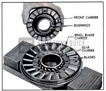 1957 Buick Front of Stator Assembly