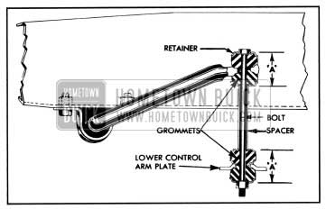 1957 Buick Front Stabilizer Link-Sectional View
