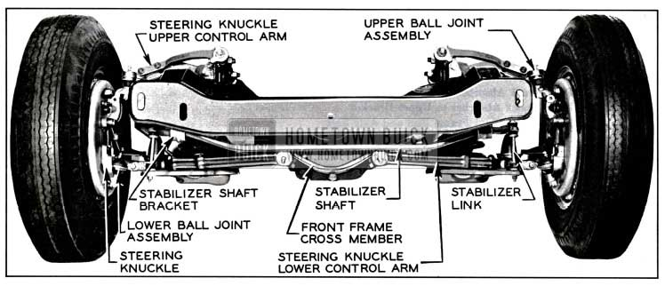 1957 Buick Front Wheel Suspension