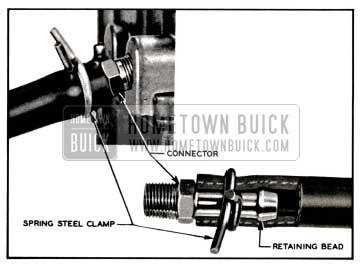 1957 Buick Fuel Lines and Clamps