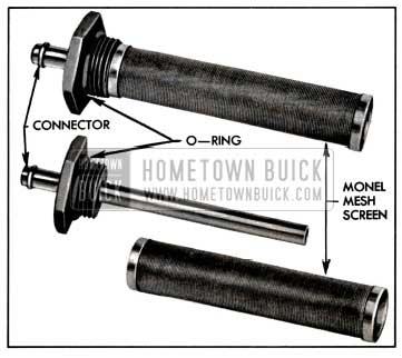 1957 Buick Fuel Strainer