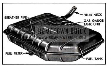 1957 Buick Fuel Tank
