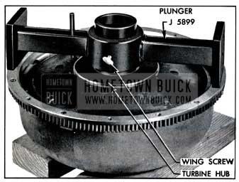 1957 Buick Gauge J 5899 on Pump and Turbine