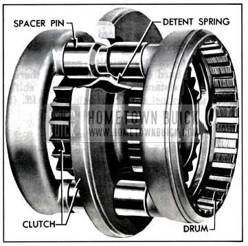 1957 Buick Gear Synchronizer Clutch