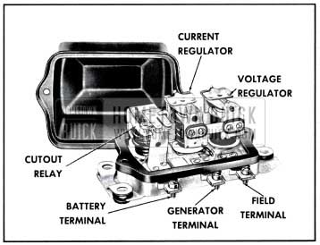 1957 Buick Generator Regulator
