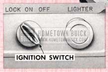 1957 Buick Ignition Switch