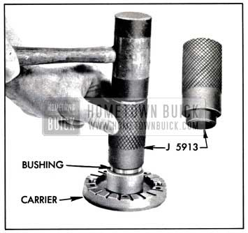 1957 Buick Installing Bushing In Blade Carrier