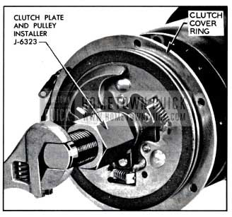 1957 Buick Installing Clutch Plates