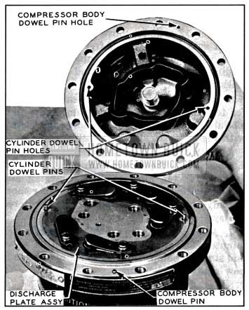 1957 Buick Installing Discharge Plate