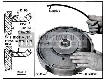 1957 Buick Installing Disk Retaining Ring