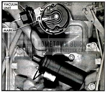 1957 Buick Installing Distributor In Engine