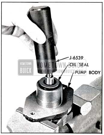 1957 Buick Installing Drive Shaft Seal