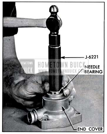 1957 Buick Installing End Cover Needle Bearing