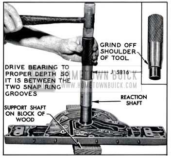 1957 Buick Installing Input Shaft Bearing
