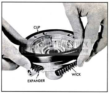 1957 Buick Installing Leather Piston Cup