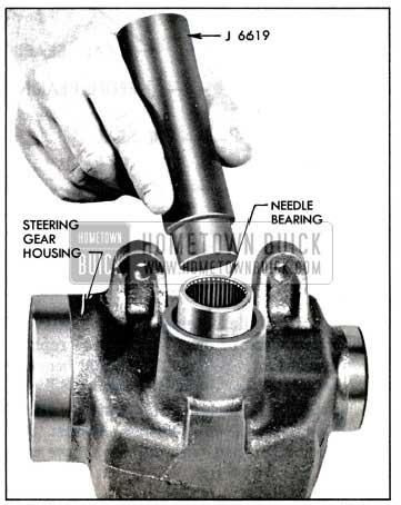 1957 Buick Installing Needle Bearing