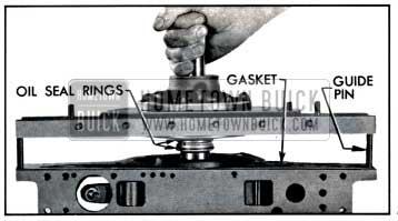 1957 Buick Installing Reaction Shaft Flange and Gasket