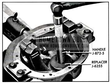1957 Buick Installing Rear Pinion Bearing Outer Race