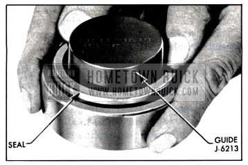 1957 Buick Installing Rear Wheel Bearing Oil Seal