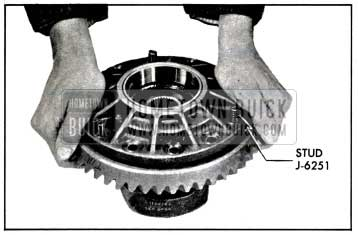 1957 Buick Installing Ring Gear on Differential Case