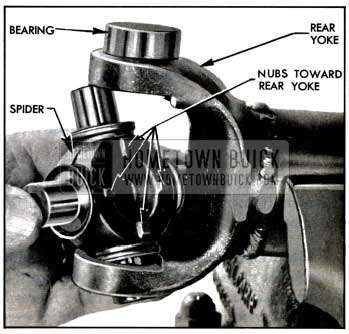1957 Buick Installing Spider In Rear Yoke