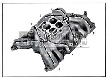 1957 Buick Intake Manifold Distribution