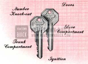 1957 Buick Keys and Locks