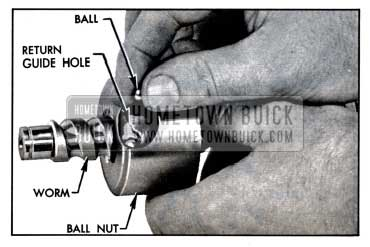 1957 Buick Loading Balls In Ball Nut