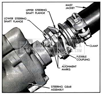 1957 Buick Marking Flexible Coupling