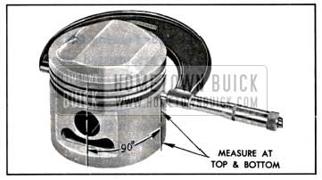 1957 Buick Measuring Piston with Micrometer