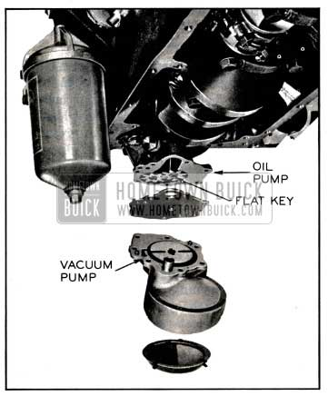 1957 Buick Oil and Vacuum Pump and Screen