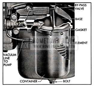 1957 Buick Oil Filter Installation