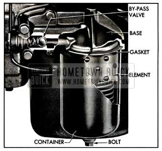 1957 Buick Oil Filter
