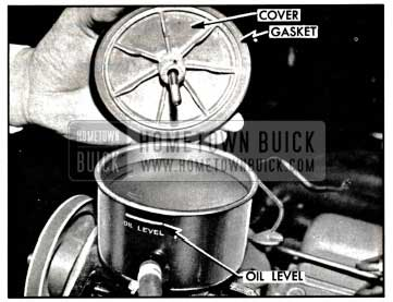 1957 Buick Oil Pump Reservoir
