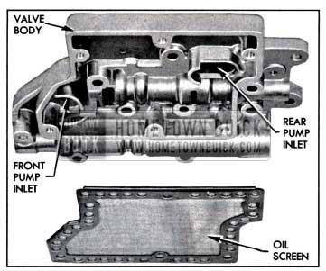 1957 Buick Oil Pump Suction Passages