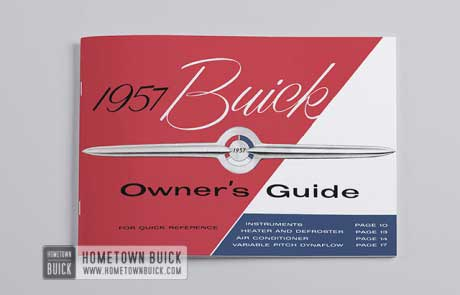 1957 Buick Owners Guide - 02