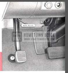1957 Buick Parking Brake