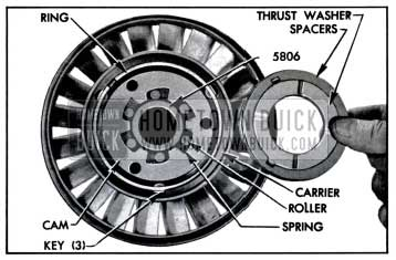 1957 Buick Parts In Rear Side of Stator