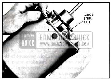 1957 Buick Positioning Piston In Housing