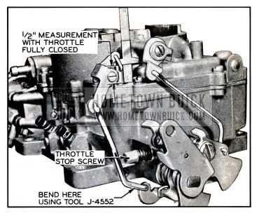 1957 Buick Pump Adjustment