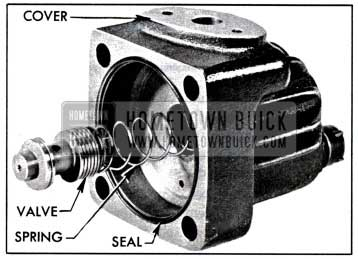 1957 Buick Pump Cover and Control Valve