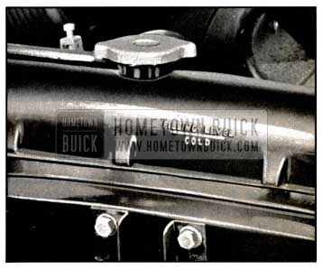 1957 Buick Radiator Filling Level-Cold