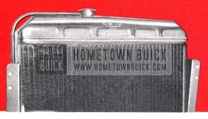 1957 Buick Radiator