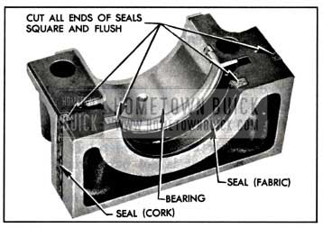 1957 Buick Rear Bearing Oil Seals