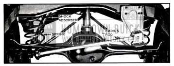 1957 Buick Rear Wheel Suspension