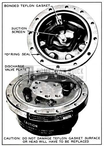 1957 Buick Removing Compressor Head