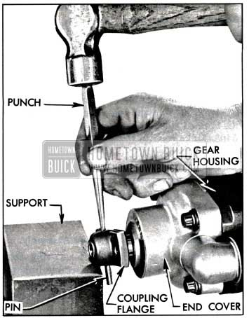 1957 Buick Removing Coupling Flange