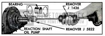 1957 Buick Removing Input Shaft Bearing