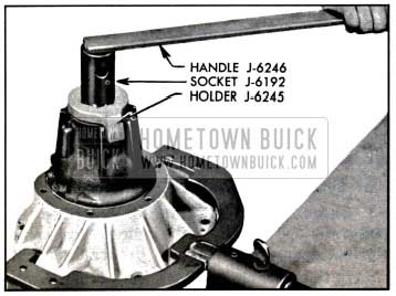 1957 Buick Removing Pinion Nut