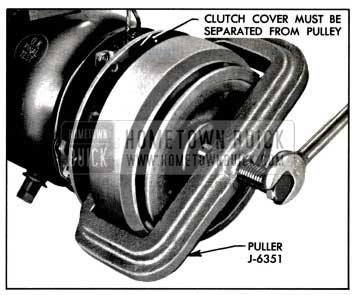 1957 Buick Removing Pulley
